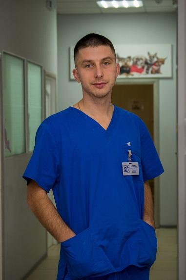 Ветеринарный врач ПолиВетЦентра Драчёв Александр Александрович